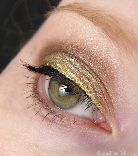 Goldiges Advents-Make up