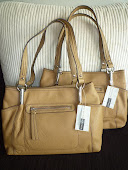 ETIENNE AIGNER ZIP FRONT TUCKERTON TOTE