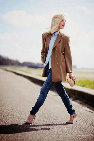 شاهدي أفكار لإطلالتك بالنطلون الجينز في الشتاء, أفكار لإرتداء الجينز, إطلالتك بالجينز في الشتاء,
