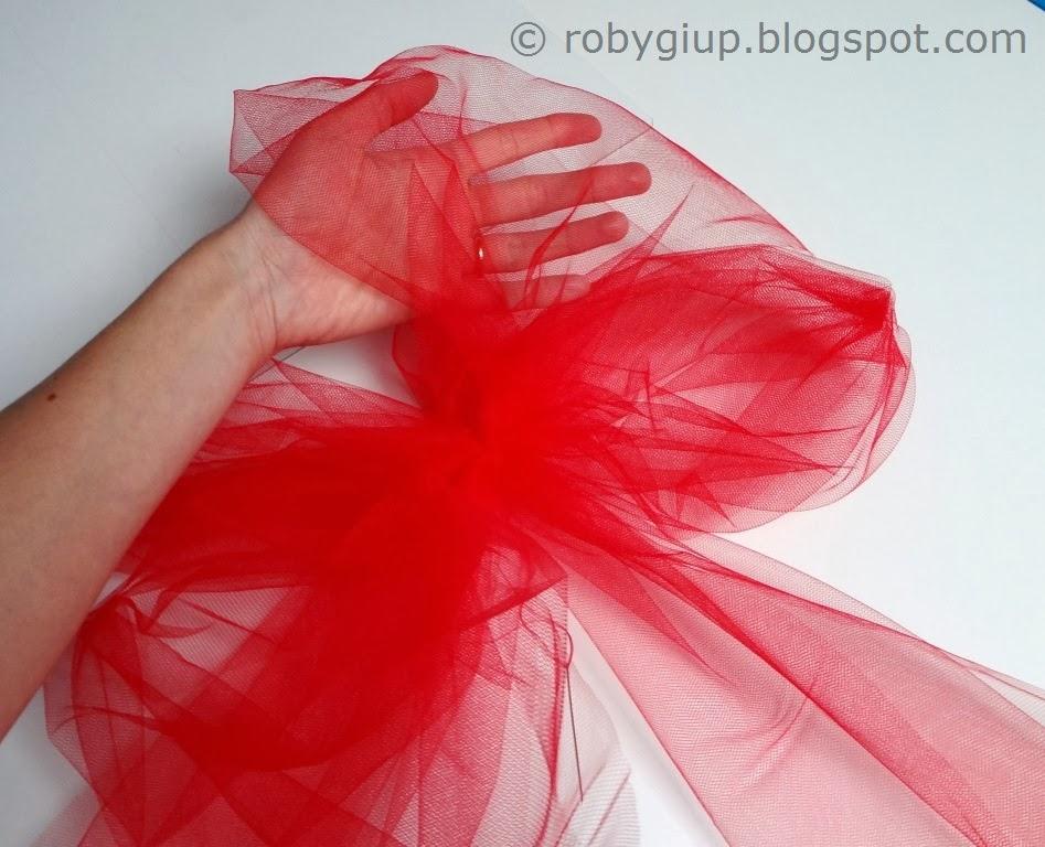 Amato RobyGiup handmade: Fiocchi di tulle - Tulle bows LU46