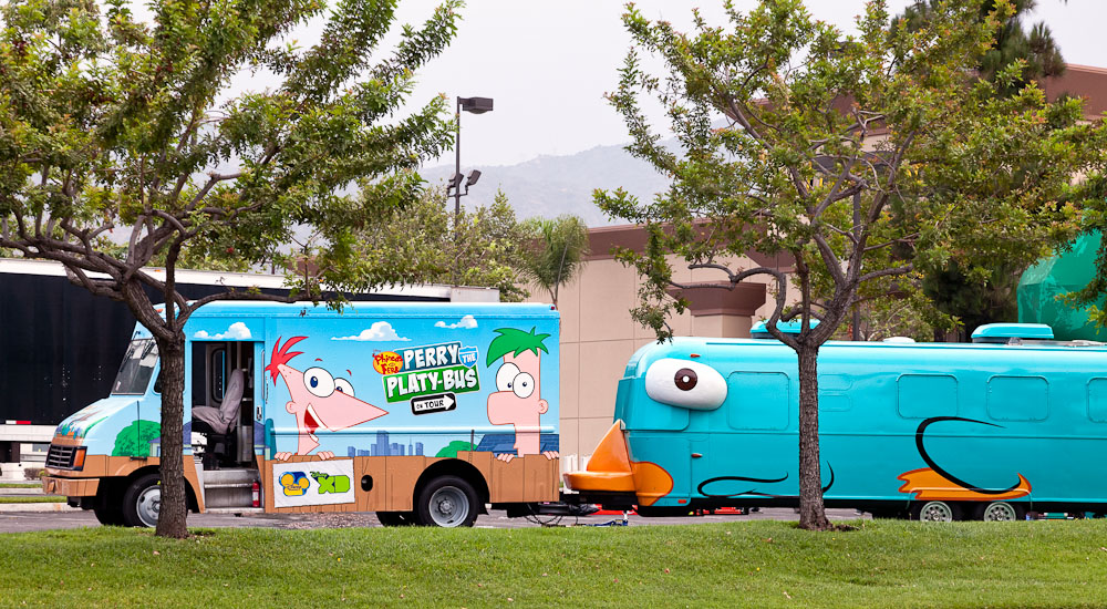 Perry The Platy Bus At Living Spaces Monrovia