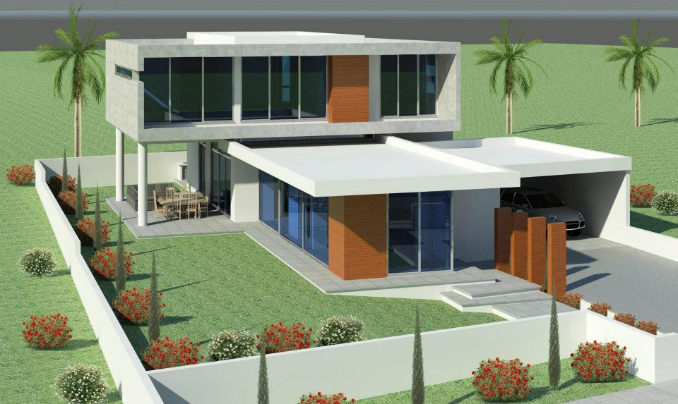 rumah rumah minimalis modern beautiful home exterior