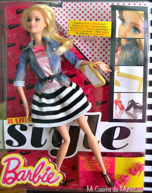 Barbie Style 2015, pies zapatos planos y tacón. Mi Casita de Muñecas, Marta