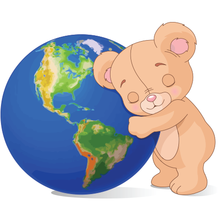 Earth-friendly teddy