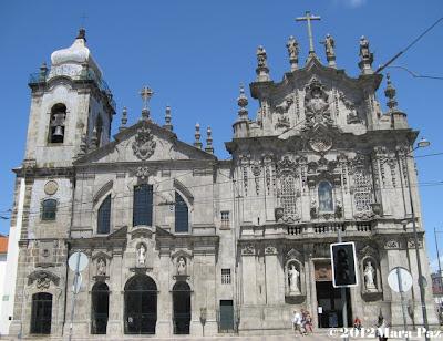 Igreja do Carmo e Igreja das Carmelitas, Porto