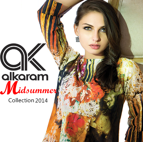 Alkaram Mid Summer Collection 2014