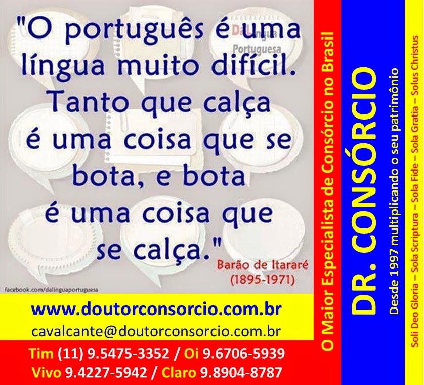 Dr. Consórcio é Cultura.