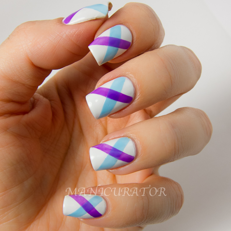 manicurator: Digit-al Dozen Tape Week Nail Art with China Glaze ...