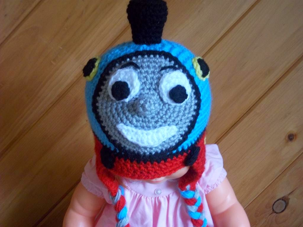 image Thomas the Tank Engine Hat crochet Pattern,