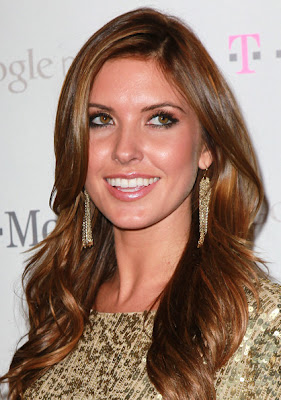 Audrina Patridge Long Wavy Cut Hairstyle Photo