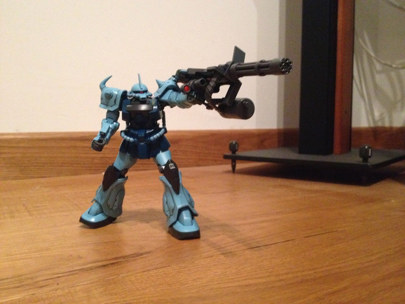 HGUC GOUF CUSTOM GUNPLA weapon MS -07B