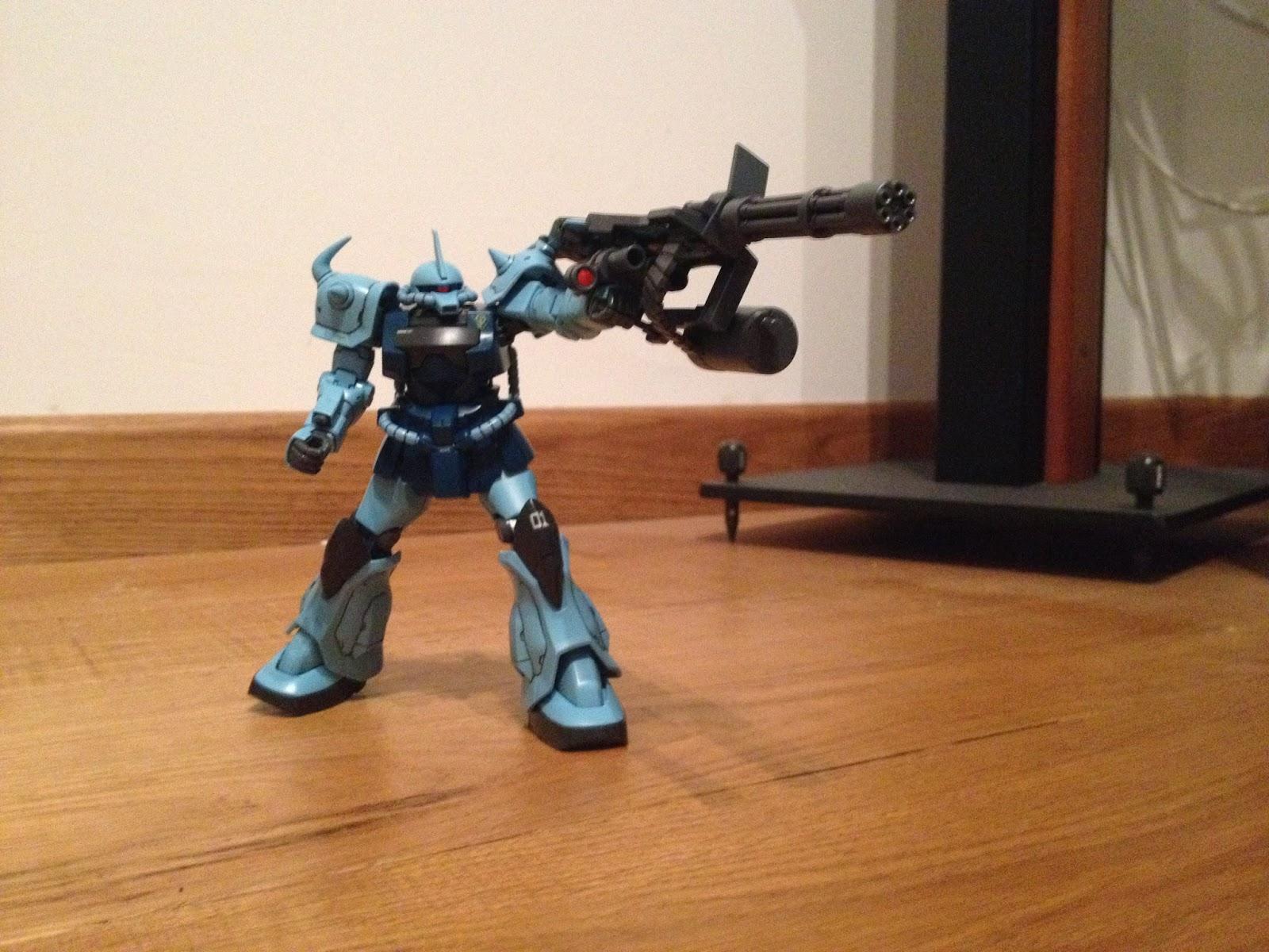 HGUC GOUF CUSTOM GUNPLA weapon MS -07B