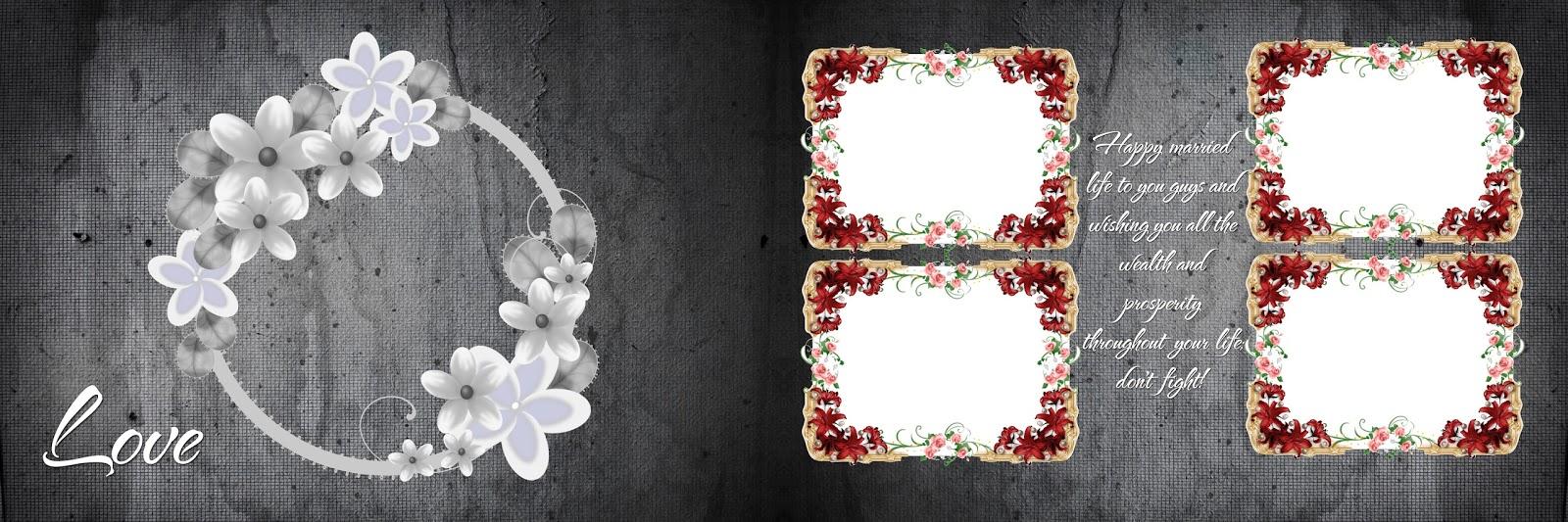 Psd12 2013 Wedding Album Design 12x36 Psd Files | PSD Source