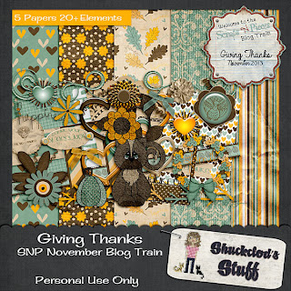 SNP - Giving Thanks Blog Train Freebie