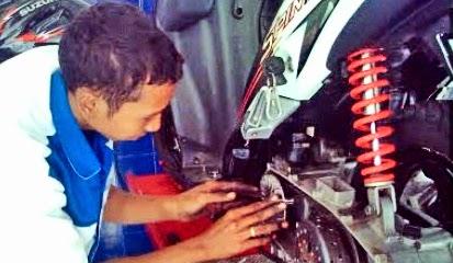 Penyebab Kerusakan Pada Komponen CVT Motor Matic