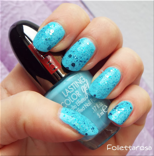 nail art effetto gel