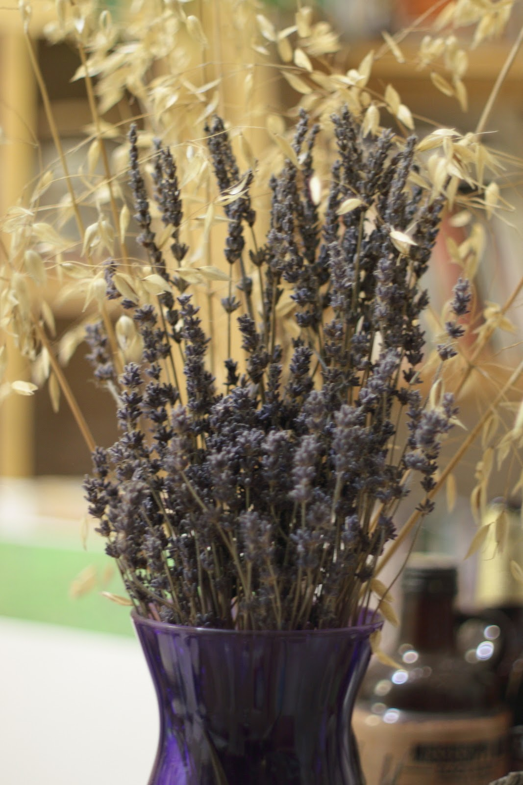 dried lavender, A Day in the Life, Photo-A-Day April 2015, Day 13, by Lisa Miller