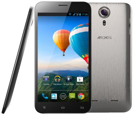 Archos 64 Xenon 6.4-Inch Android Smartphone