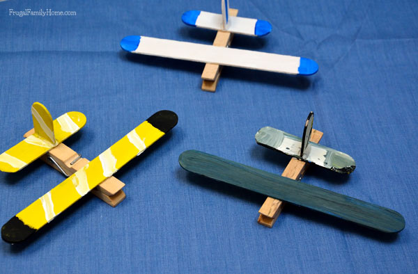 Mini aerotrastornados m s ideas para hacer aviones con for Mini clothespin craft ideas