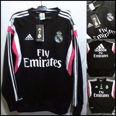 Sweater GO Madrid Hitam 2015