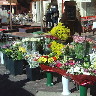 Spring time french markets