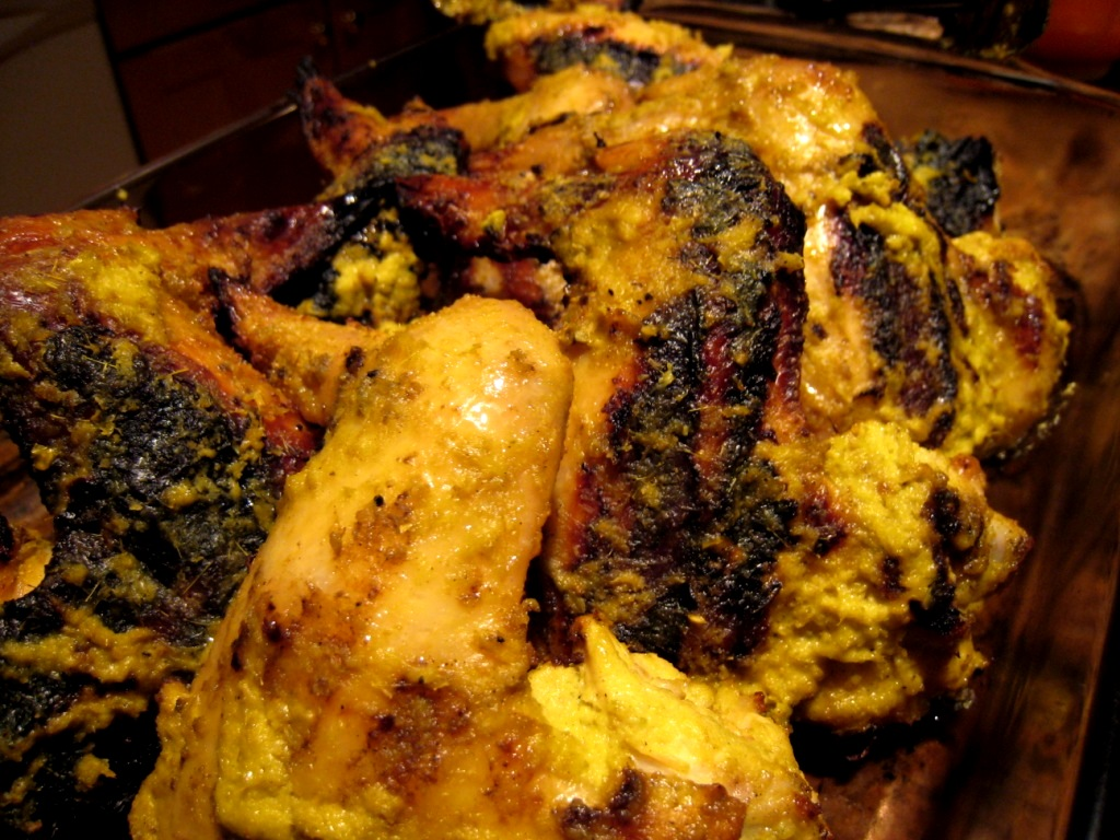 Global Grub: Grilled Lemongrass and Turmeric Chicken Wings