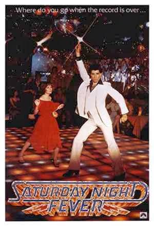 Poster Fiebre del Sábado Noche