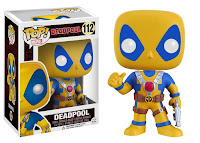 Funko Pop! Yellow & Blue Deadpool
