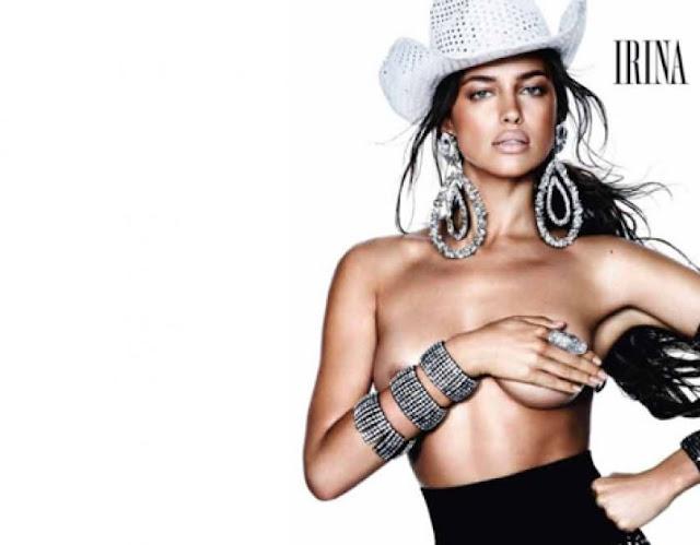 Irina Shayk fotos desnuda Vogue