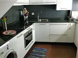 Piso de dos dormitorios en alquiler en la Ciudad Vieja, amueblado. 650€
