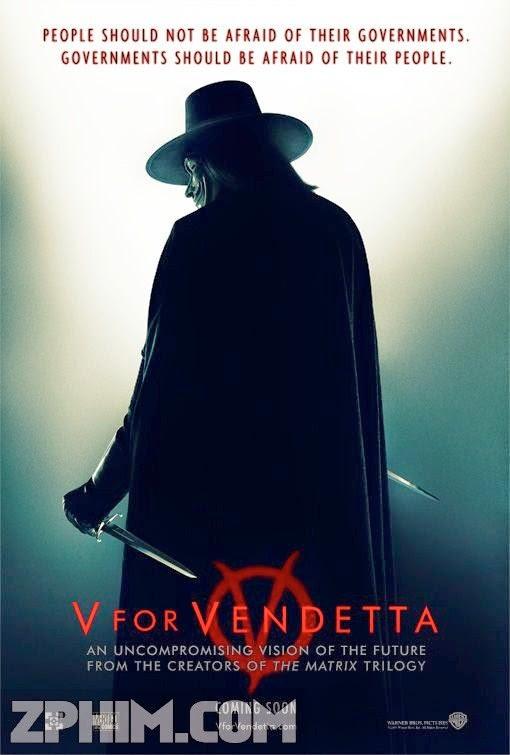 Chiến Binh Tự Do - V For Vendetta (2005) Poster