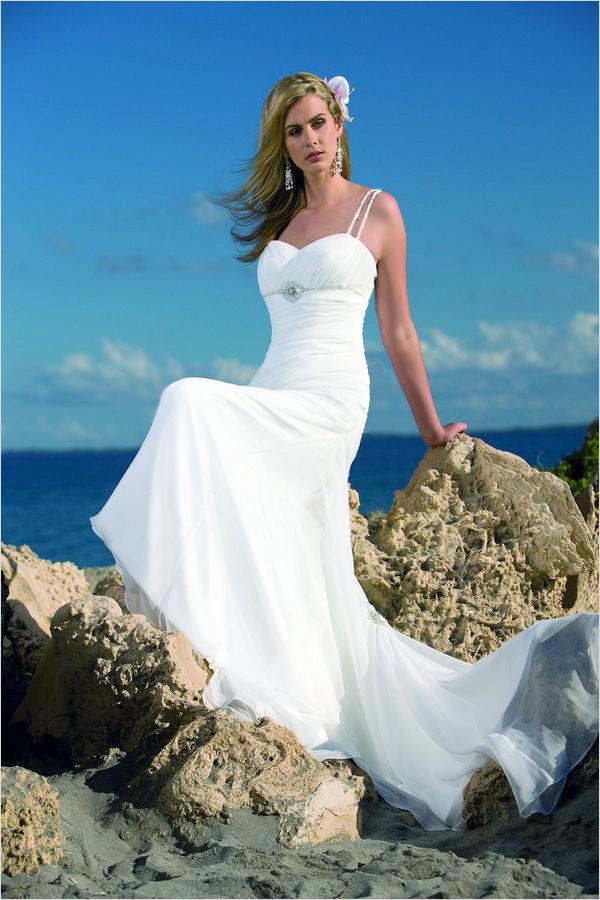 GlamboxBeautiful Makeup Is Our Hallmark Beach Wedding Dresses