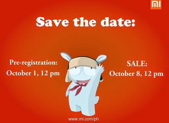Xiaomi Redmi 1S 4th Flash Sale Registration This October 1 to 7