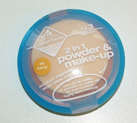 Manhattan clearface 2 in 1 powder and make-up
