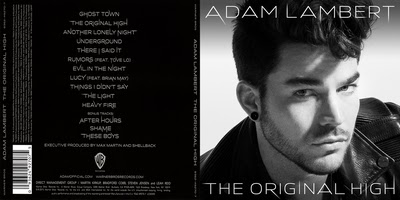 Adam Lambert The Orignal High Deluxe Edition 2015