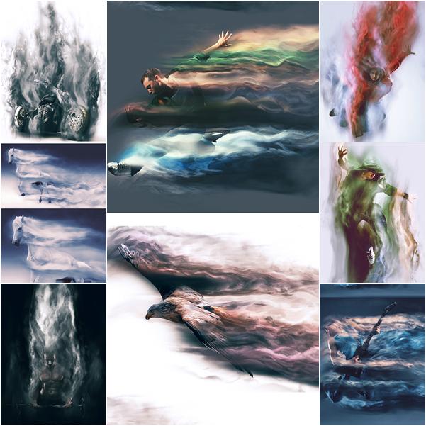 اكشنات فوتوشوب | تاثير دخان على الصور 2015