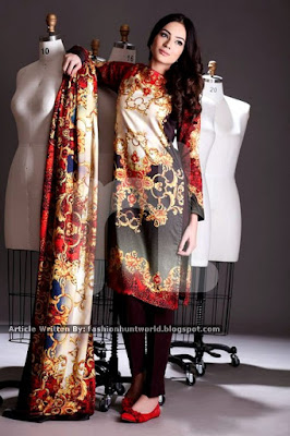 Nishat Linen Winter Collection 2015