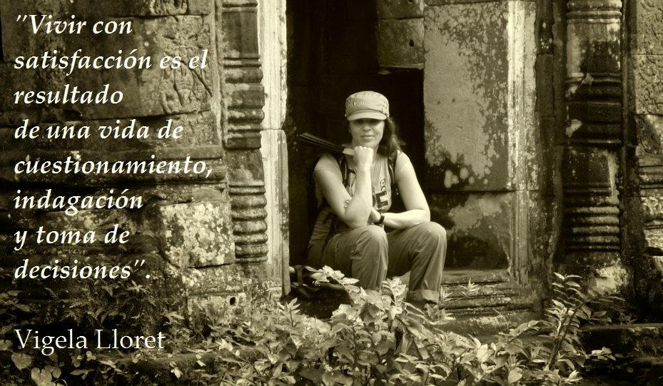 """El Blog de María Serralba-María pregunta a...""""Vigela Lloret"""""""