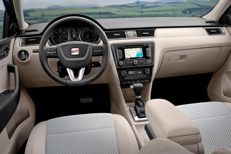 Interior del nuevo Seat Toledo
