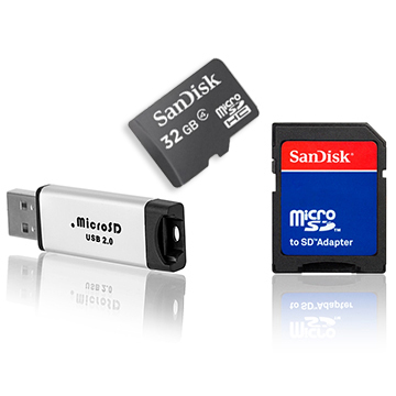 Sandisk Ultra 16GB Micro SDHC UHS-I Card with