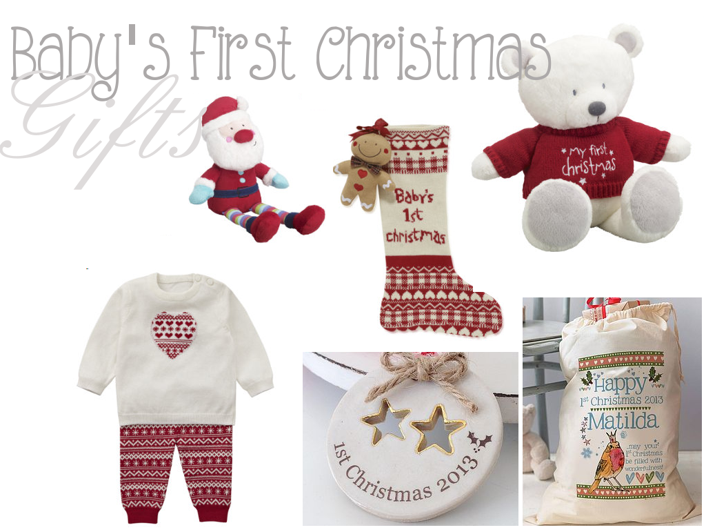 Baby Gift Ideas For Christmas : Baby s first christmas gifts life as mum uk family