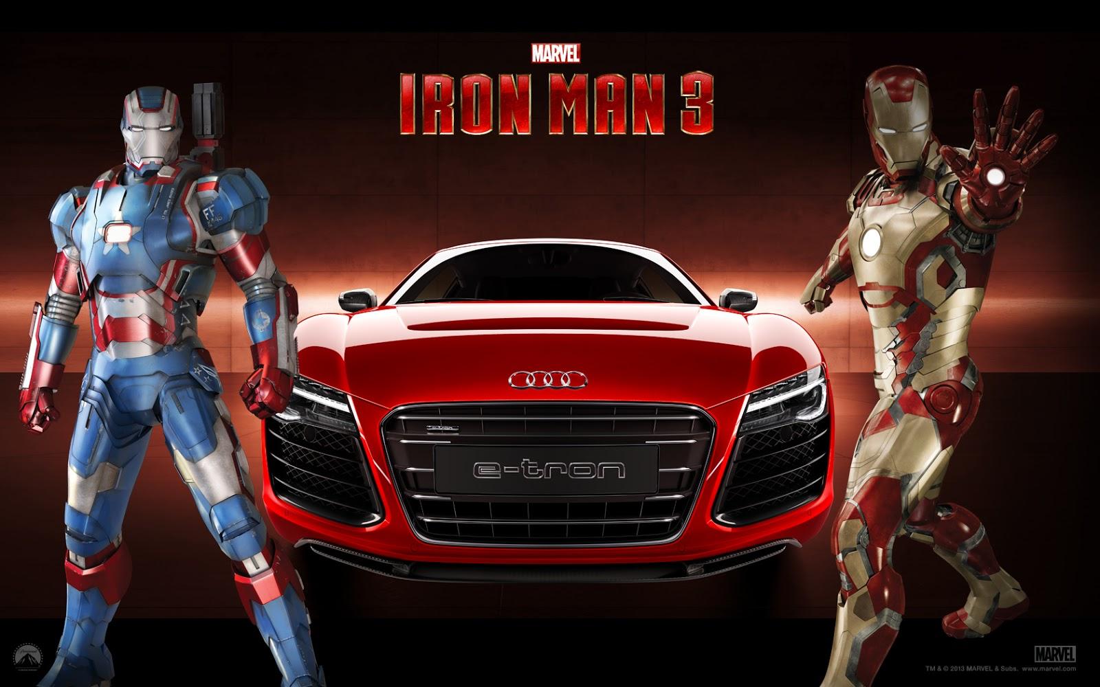 Homem De Ferro 3 Tony Stark Dirige Um Audi Filme Trailer
