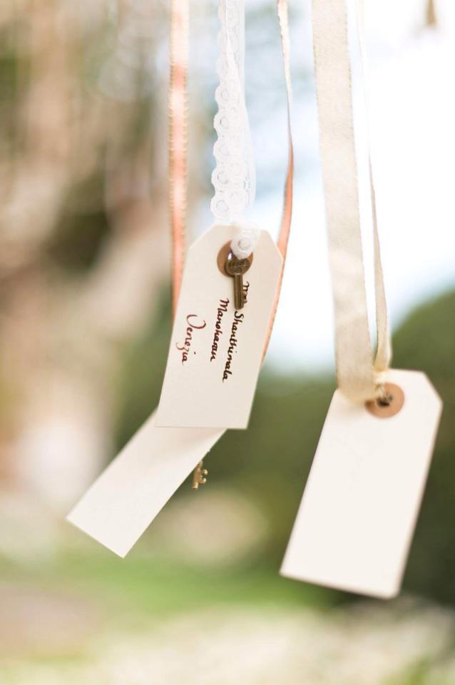 DIY Wedding- Escort cards