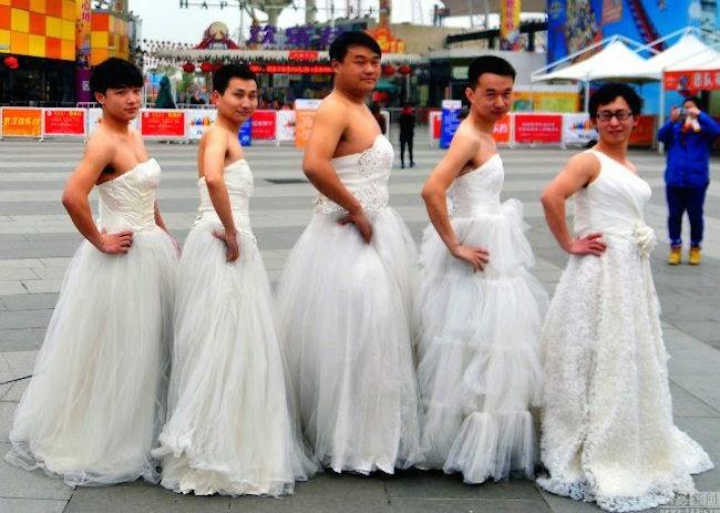 men-dressed-in-wedding-gowns