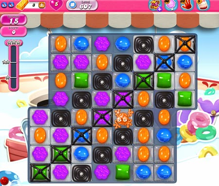 Candy Crush Saga 607