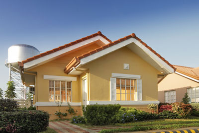 House model of camella homes
