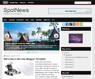 SpotNews+Blogger+Template