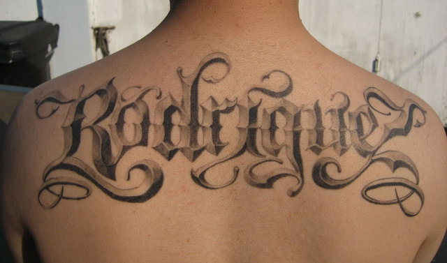 popular tattoo fonts cursive. cool tattoo fonts cursive. Tattoo Fonts Calligraphy