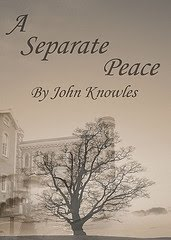 an analysis of war realities in a separate peace by john knowles A separate peace is a coming-of-age novel by john knowlesbased on his earlier short story, phineas, it was knowles' first published novel and became his best-known work  set against the backdrop of world war ii, a separate peace explores morality, patriotism and loss of innocence through its narrator, ge.