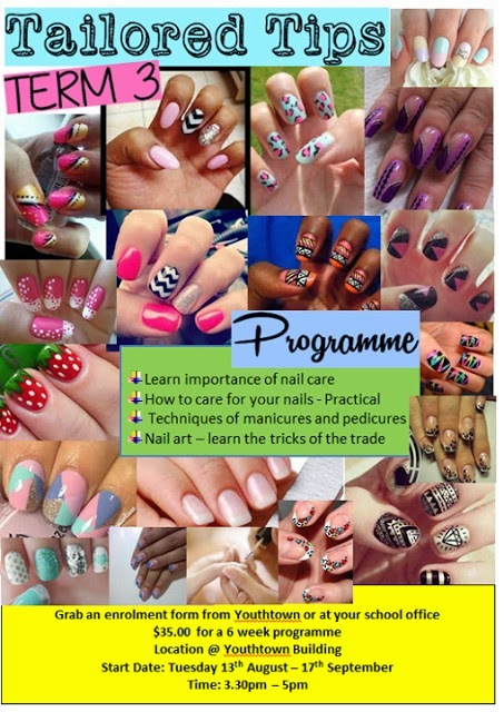Nail Care and Nail Art Program - Tailored Tips